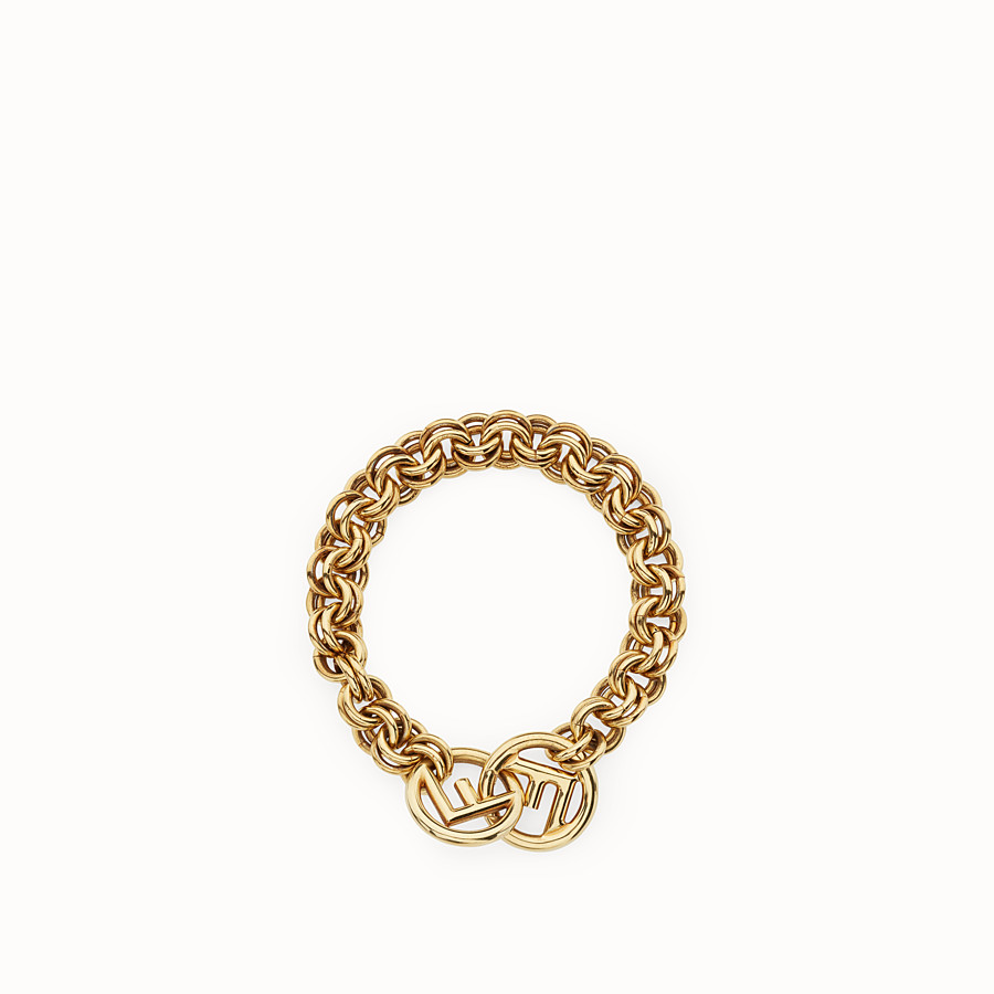FENDI F IS FENDI BRACELET - Gold-color bracelet - view 1 detail