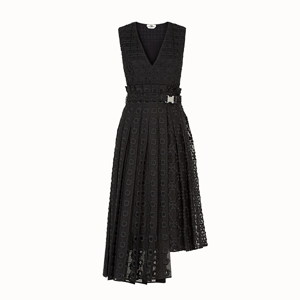 FENDI DRESS - Black organza dress - view 1 small thumbnail