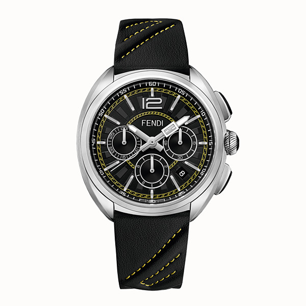 FENDI MOMENTO FENDI - 46 mm - Chronograph watch with bracelet - view 1 small thumbnail