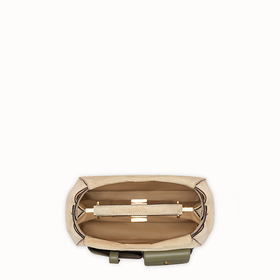 FENDI PEEKABOO MINI POCKET - Beige split bag - view 4 detail