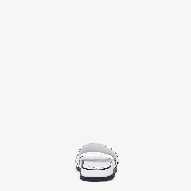 FENDI SANDALS - Fendi Roma Joshua Vides leather Fussbett sandals - view 3 detail