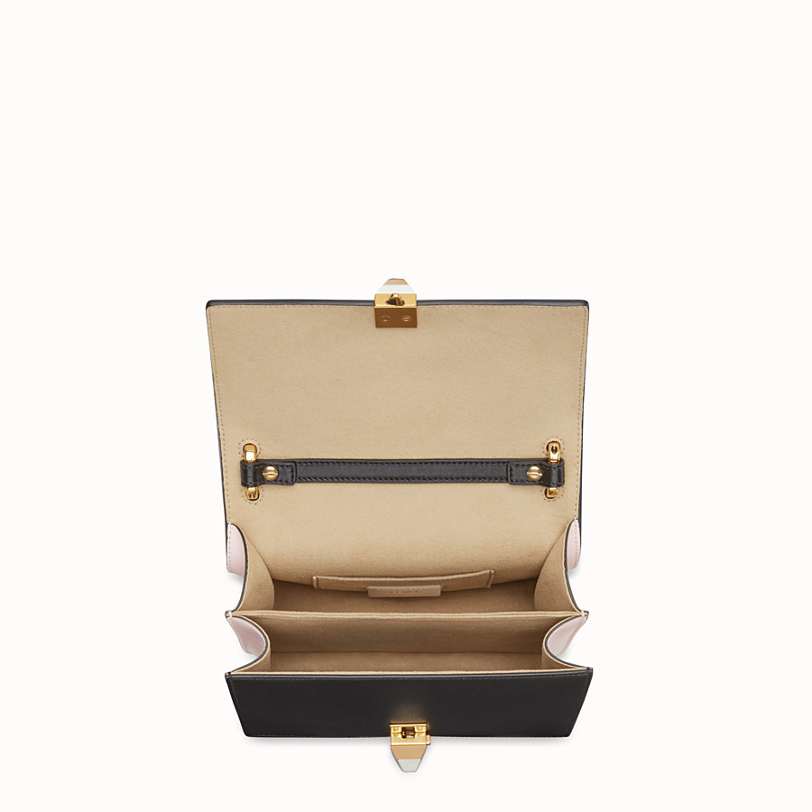 FENDI KAN I SMALL - Multicolour leather minibag - view 4 detail