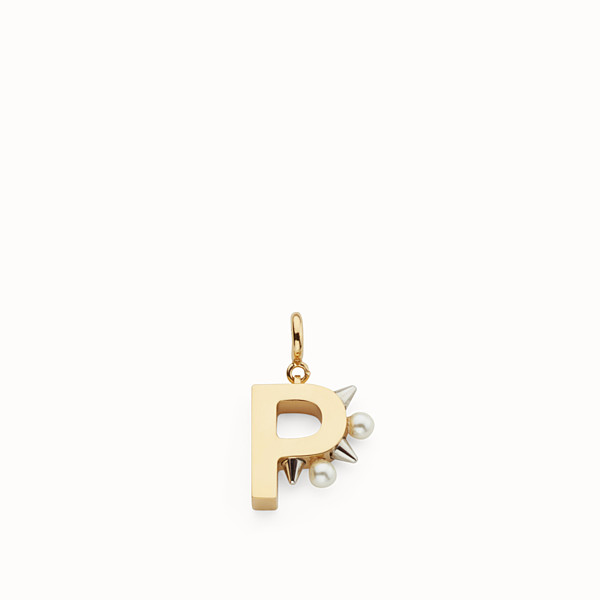 FENDI ABCHIC P - Charm with pearls and studs - view 1 small thumbnail
