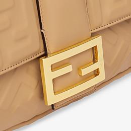 FENDI BAGUETTE LARGE - Beige leather bag - view 6 thumbnail