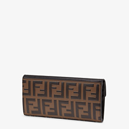 FENDI CONTINENTAL - Black leather wallet - view 2 thumbnail