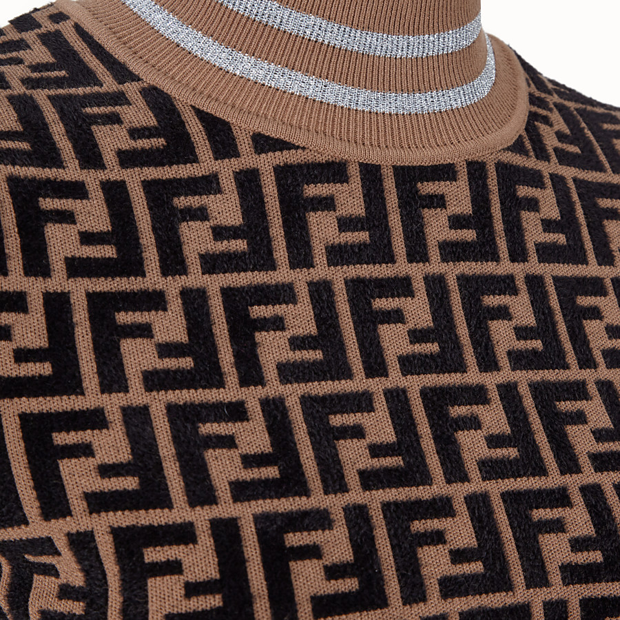 FENDI PULLOVER - Fendi Prints On viscose jumper - view 3 detail