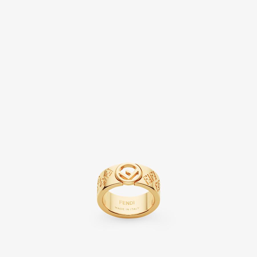 FENDI RING FF - Ring Goldfarben - view 1 detail