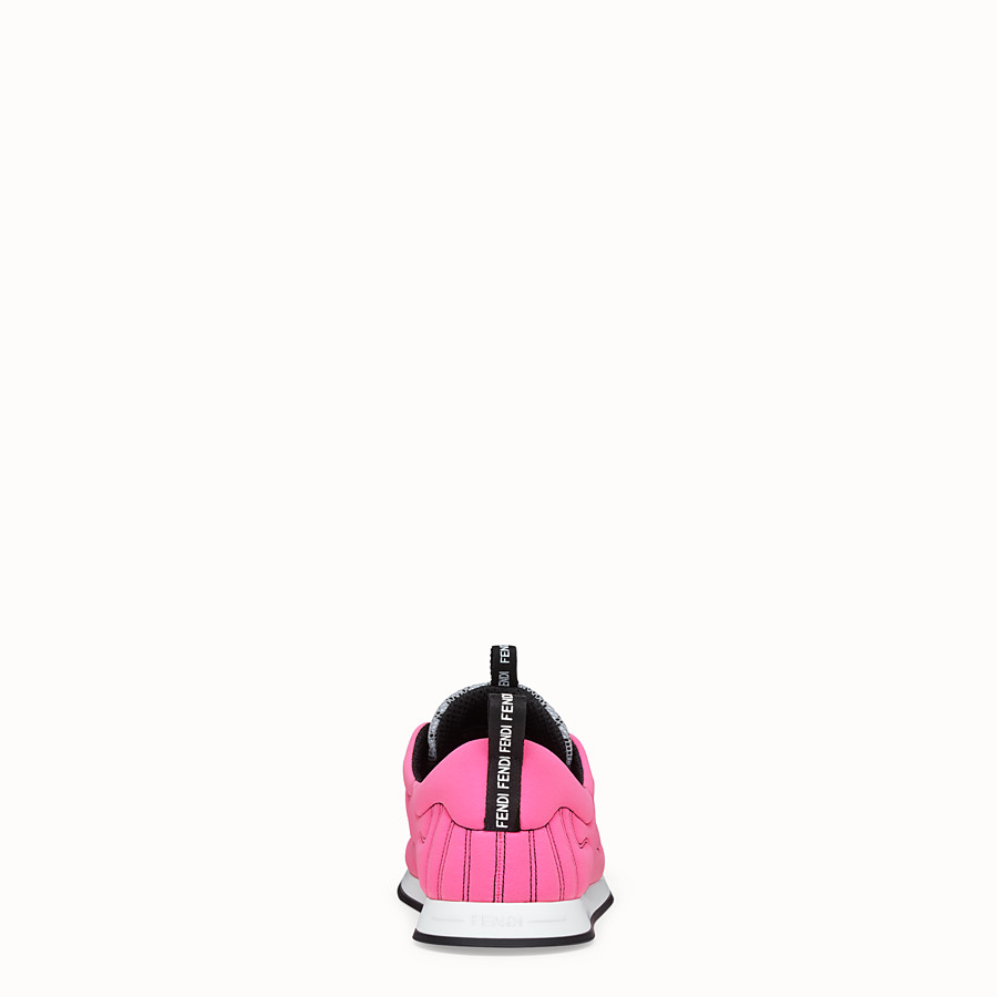 FENDI SNEAKER - Sneaker Fendi Roma Amor in Lycra® - vista 3 dettaglio