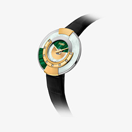 FENDI POLICROMIA - 38 mm - Watch with diamonds and genuine stones - view 2 thumbnail