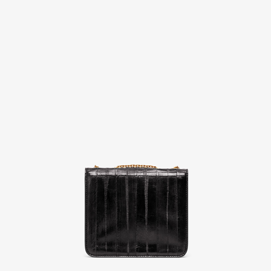 FENDI FENDI FAB - Black eel leather bag - view 3 detail