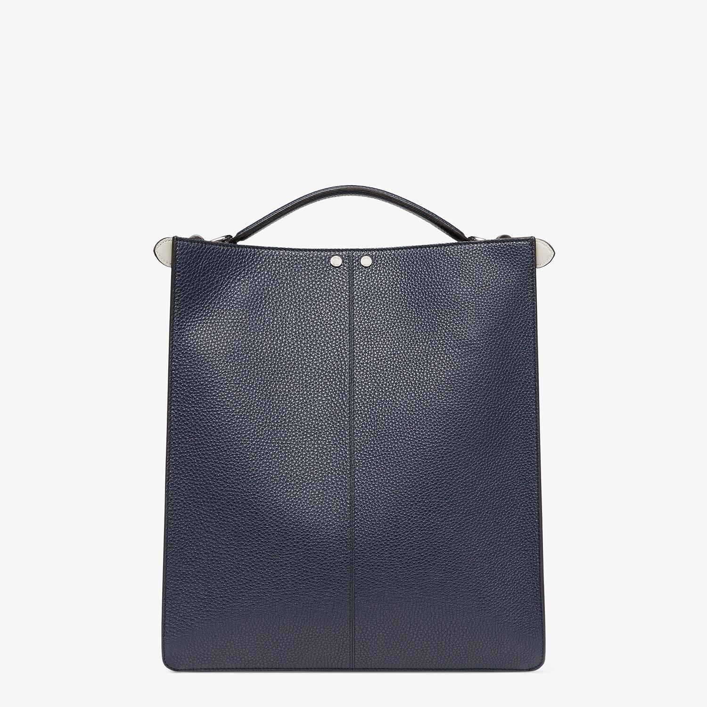 FENDI PEEKABOO ISEEU TOTE - Dark blue leather bag - view 5 detail