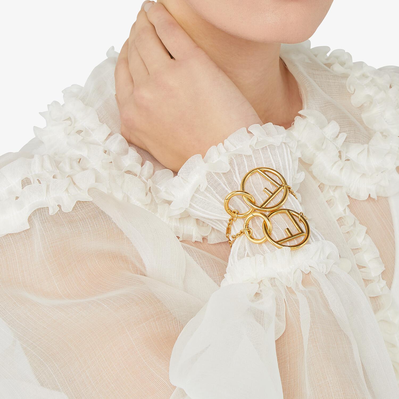 FENDI F IS FENDI BRACELET - Gold-color bracelet - view 4 detail