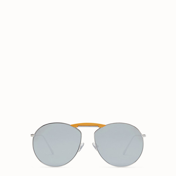 FENDI GENTLE Fendi No. 2 - Palladium-coloured sunglasses - view 1 small thumbnail