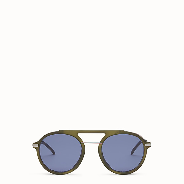 FENDI FENDI FANTASTIC - Green AW 17/18 Runway sunglasses - view 1 small thumbnail