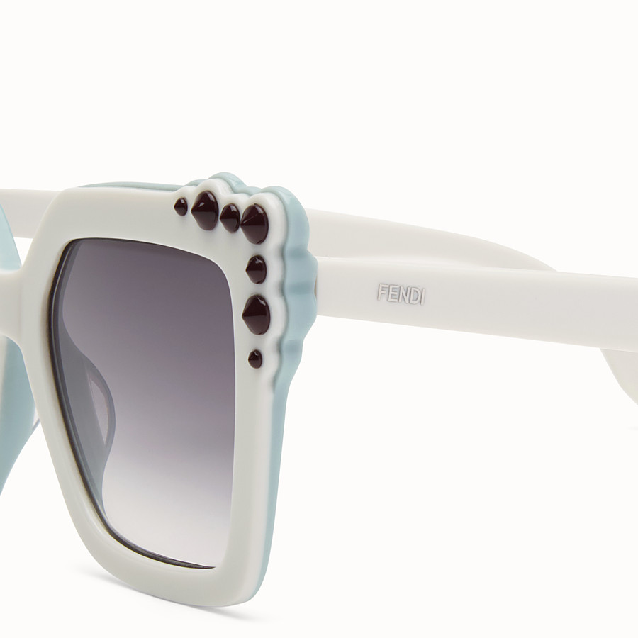 FENDI CAN EYE - Ivory sunglasses - view 3 detail