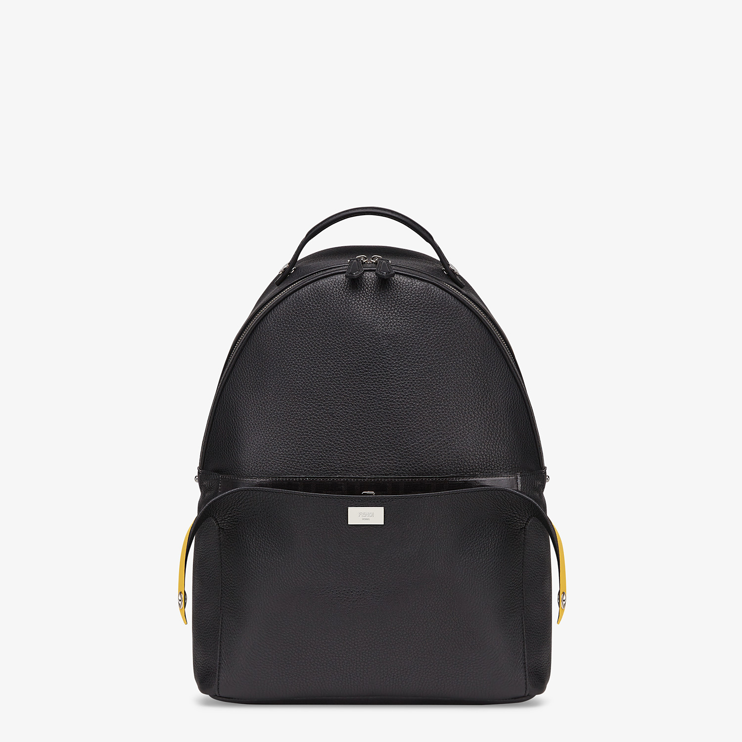 FENDI PEEKABOO BACKPACK - Black leather backpack - view 1 detail
