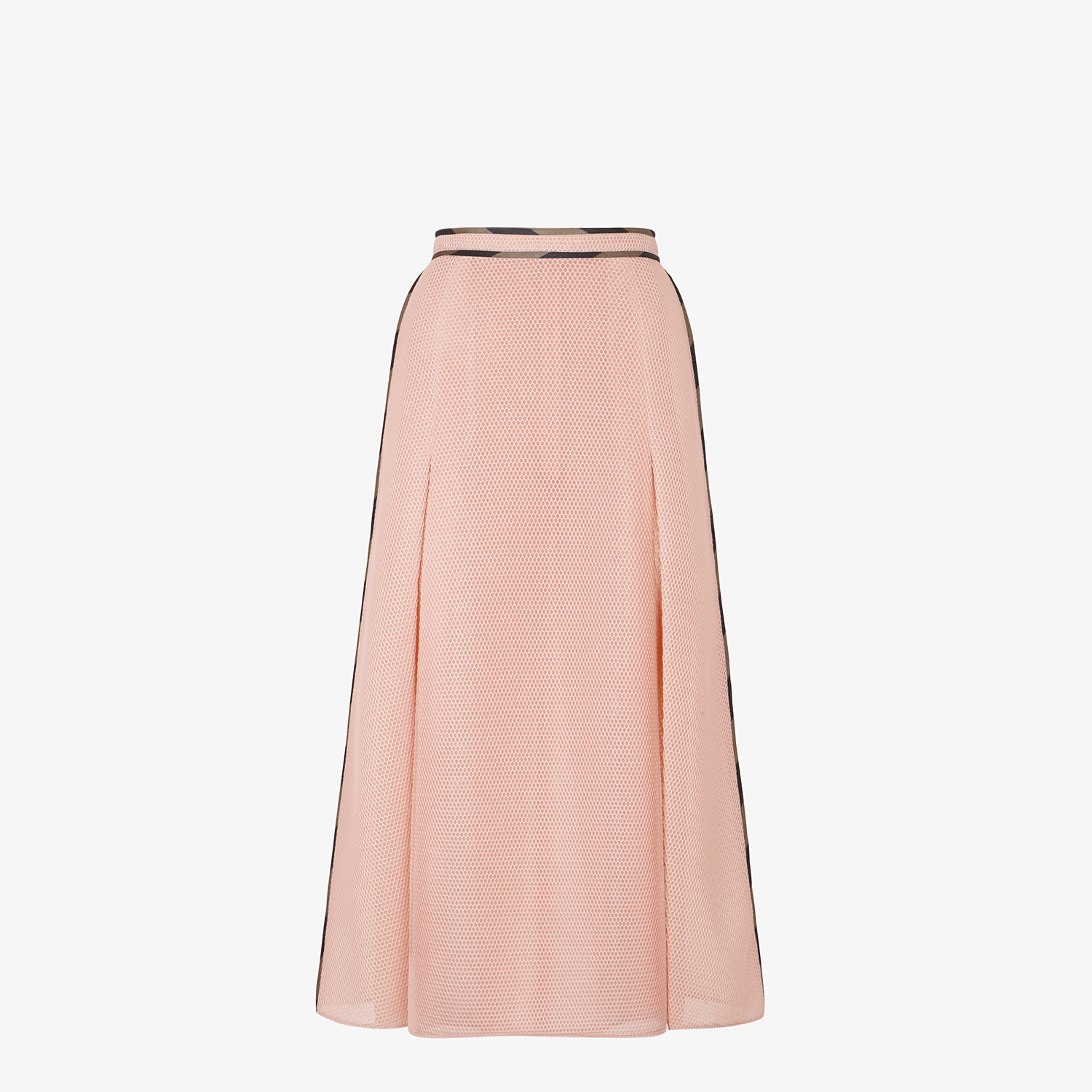 FENDI SKIRT - Skirt in pink tech mesh - view 1 detail