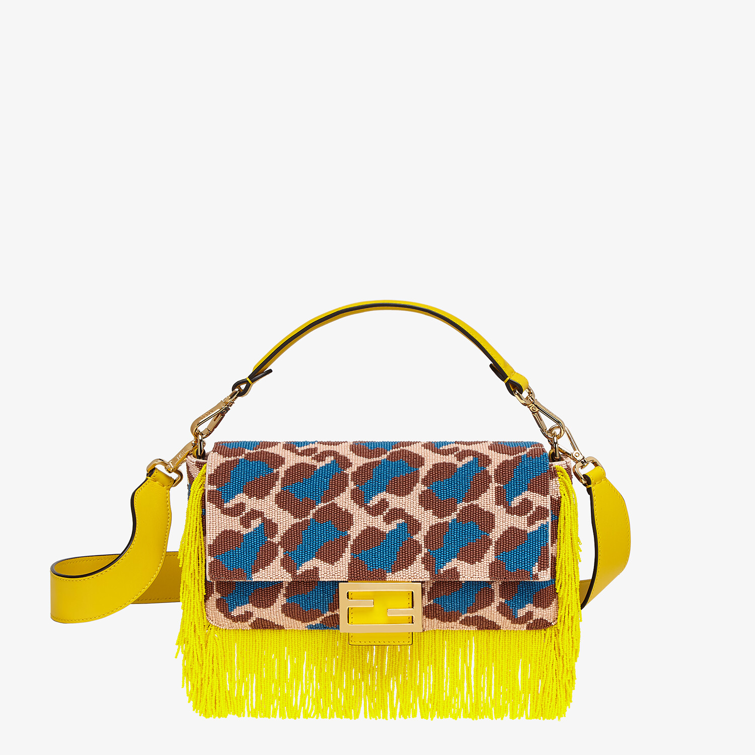 FENDI BAGUETTE - Bag with multicolor beads - view 1 detail
