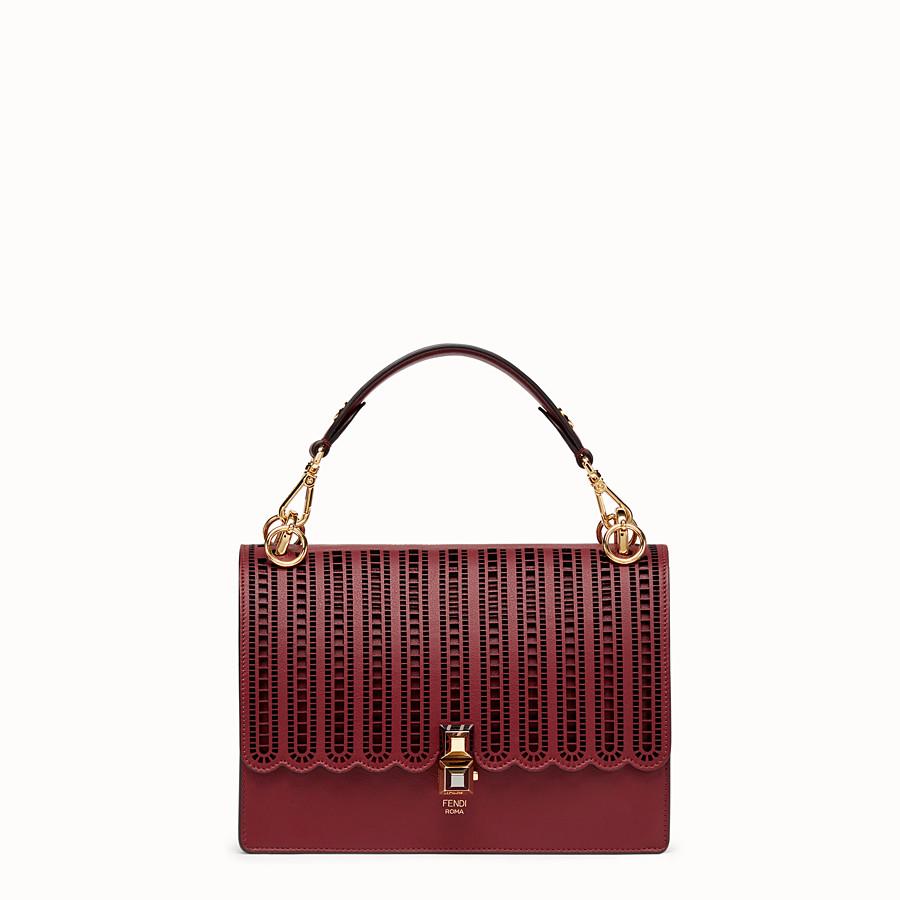 d2b2fed92a01 Burgundy leather bag - KAN I