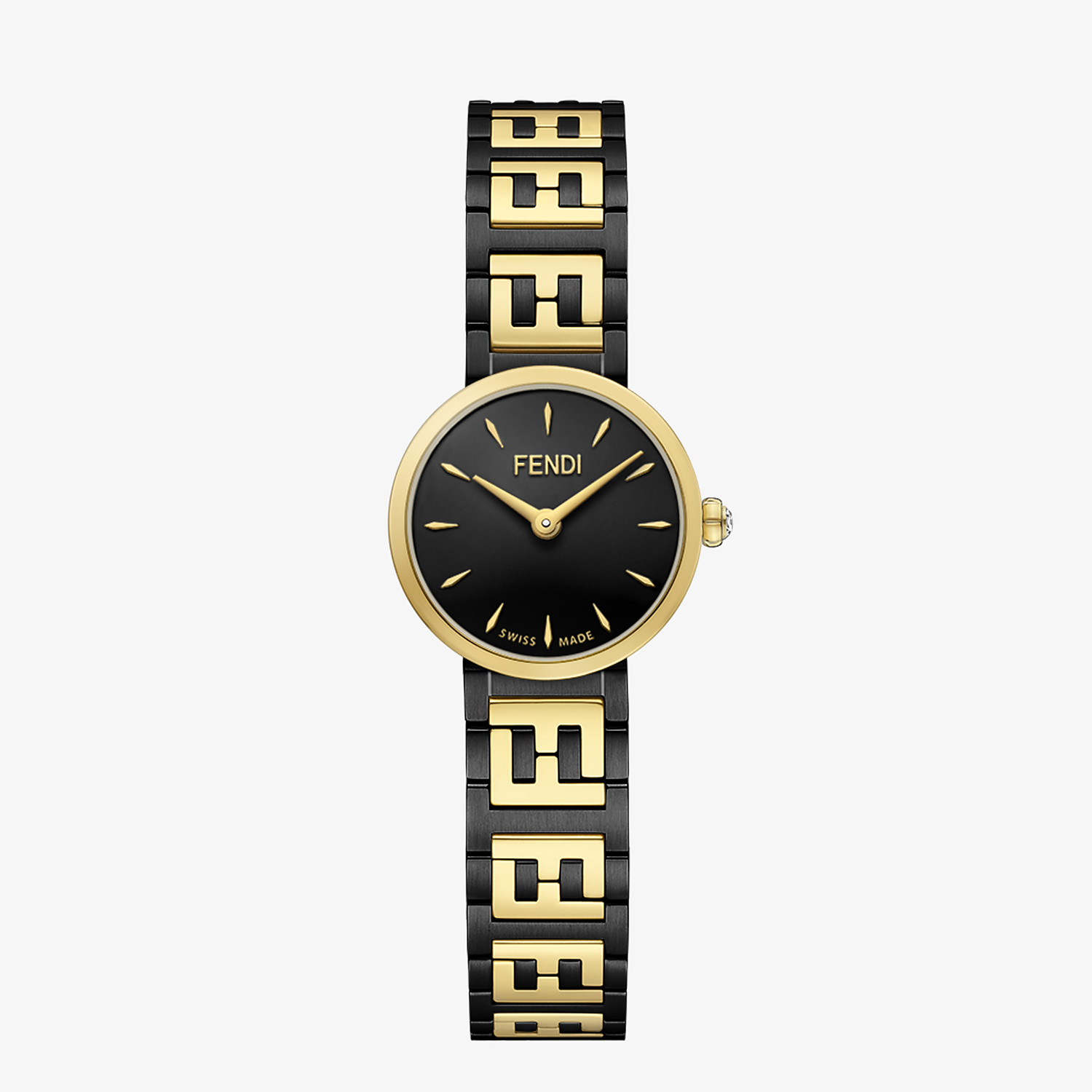 FENDI FOREVER FENDI - 19 MM - Watch with FF logo bracelet - view 1 detail