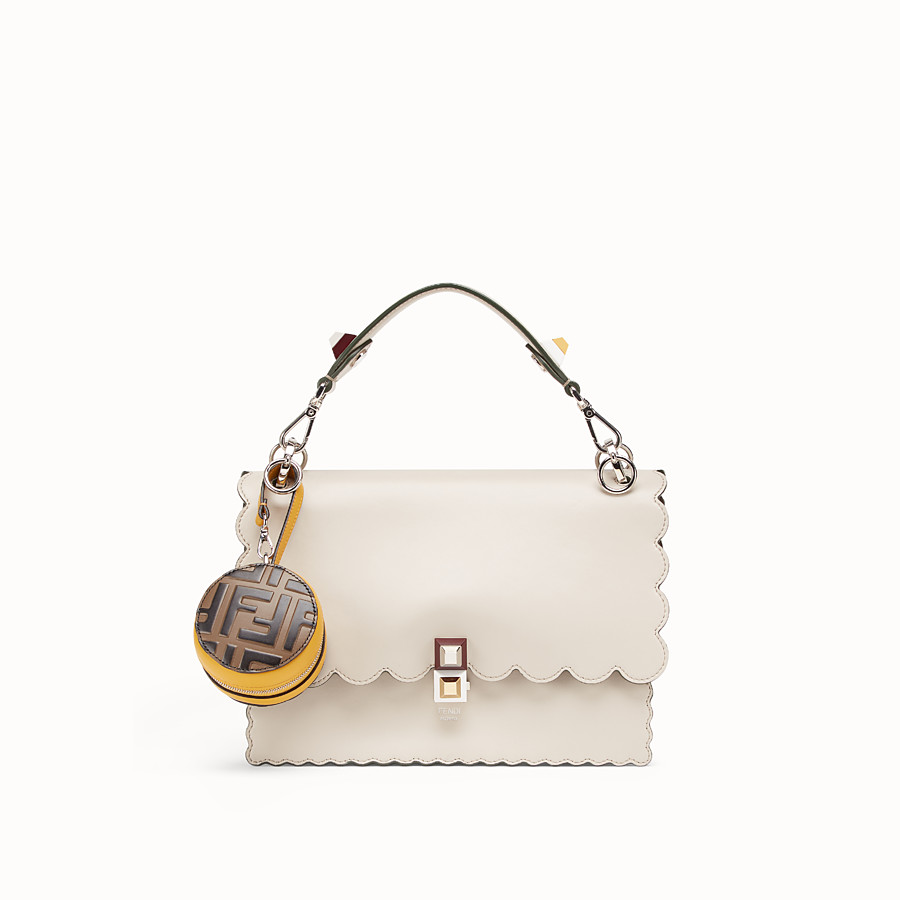 FENDI BACKPACK CHARM - Yellow leather charm - view 3 detail