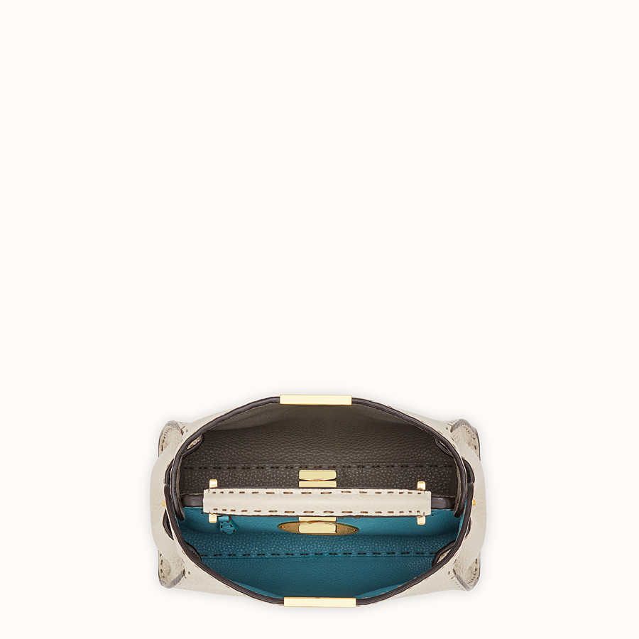 FENDI PEEKABOO ICONIC ESSENTIALLY - Fendi Roma Amor leather bag - view 5 detail