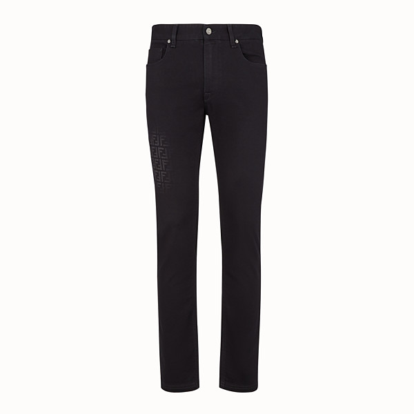 FENDI JEANS - Jeans aus Denim in Schwarz - view 1 small thumbnail