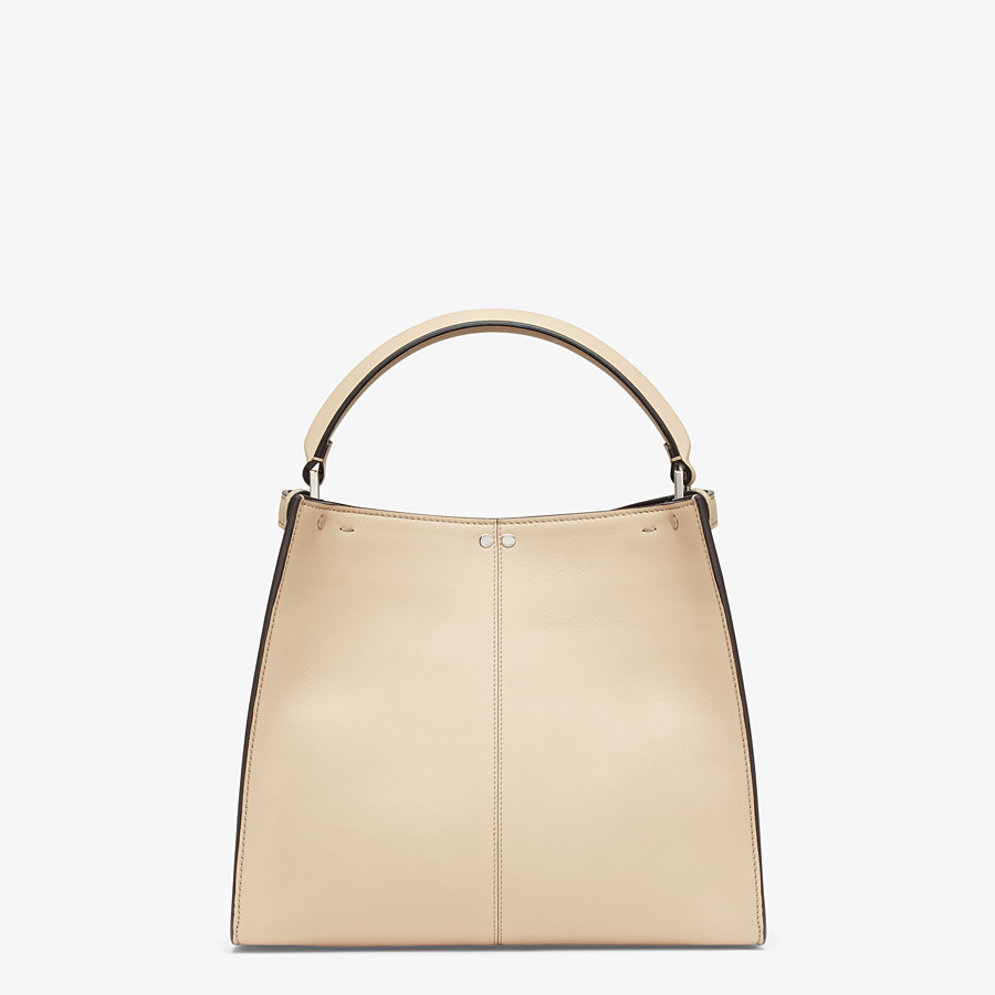 FENDI PEEKABOO X-LITE MEDIUM - Tasche aus Leder in Beige - view 5 detail