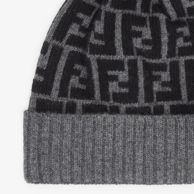 FENDI HAT - Multicolor wool hat - view 2 detail