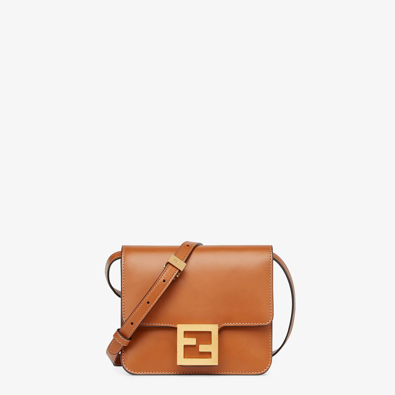 FENDI FENDI FAB - Brown leather bag - view 1 detail
