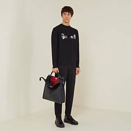 FENDI PULLOVER - Pullover aus Wolle in Schwarz - view 4 thumbnail