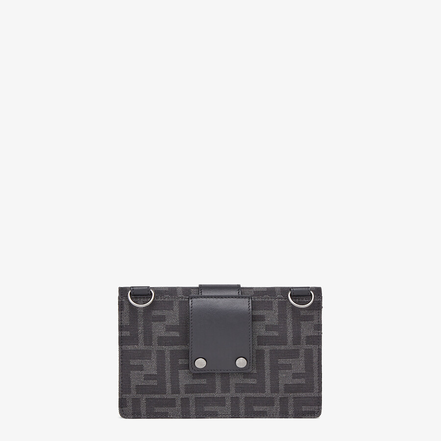 FENDI BAGUETTE POUCH - Multicolor fabric bag - view 3 detail