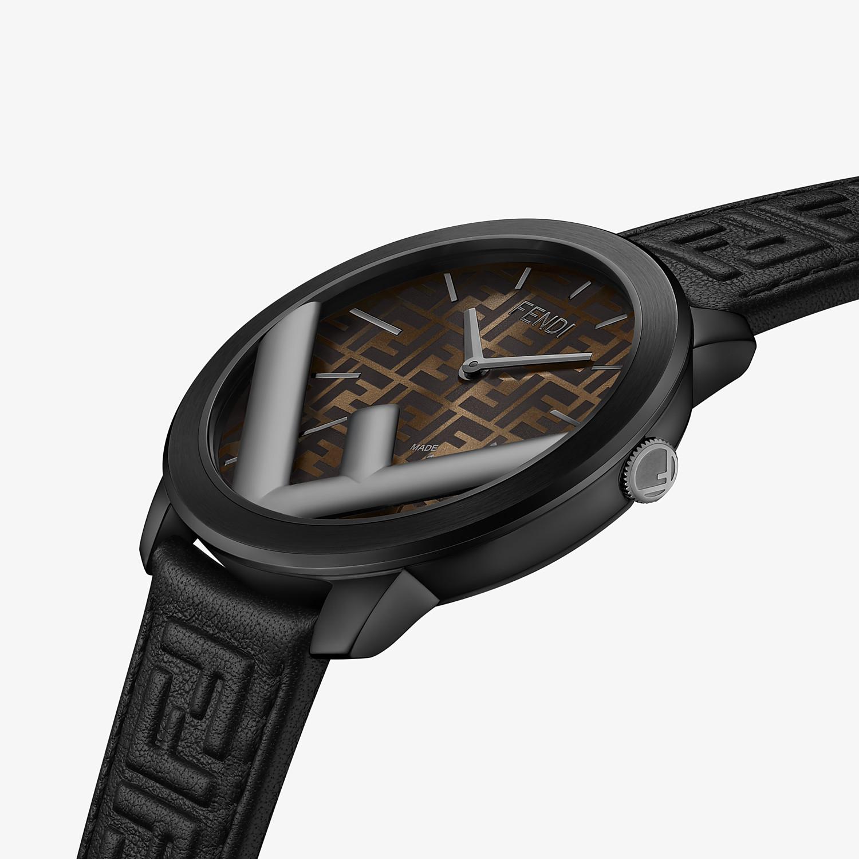 FENDI RUN AWAY - 41 mm - Watch with F is Fendi logo - view 3 detail