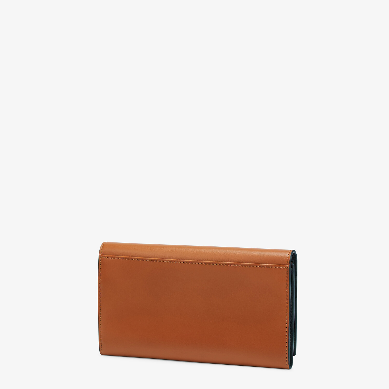 FENDI CONTINENTAL - Brown leather wallet - view 2 detail