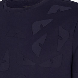 FENDI T-SHIRT - T-Shirt aus Jersey in Blau - view 3 thumbnail