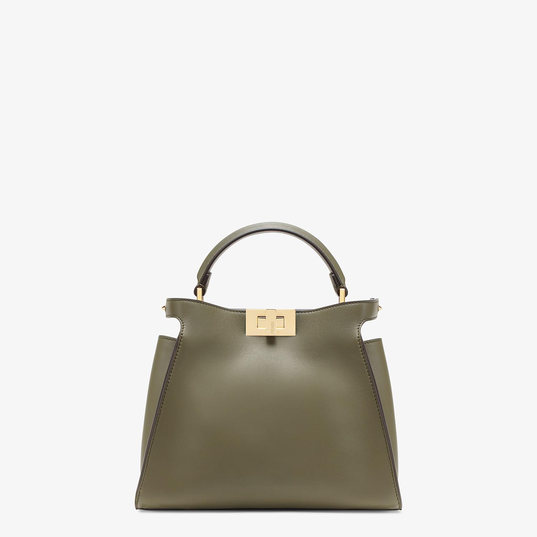 FENDI PEEKABOO ICONIC ESSENTIALLY - Green leather bag - view 1 detail