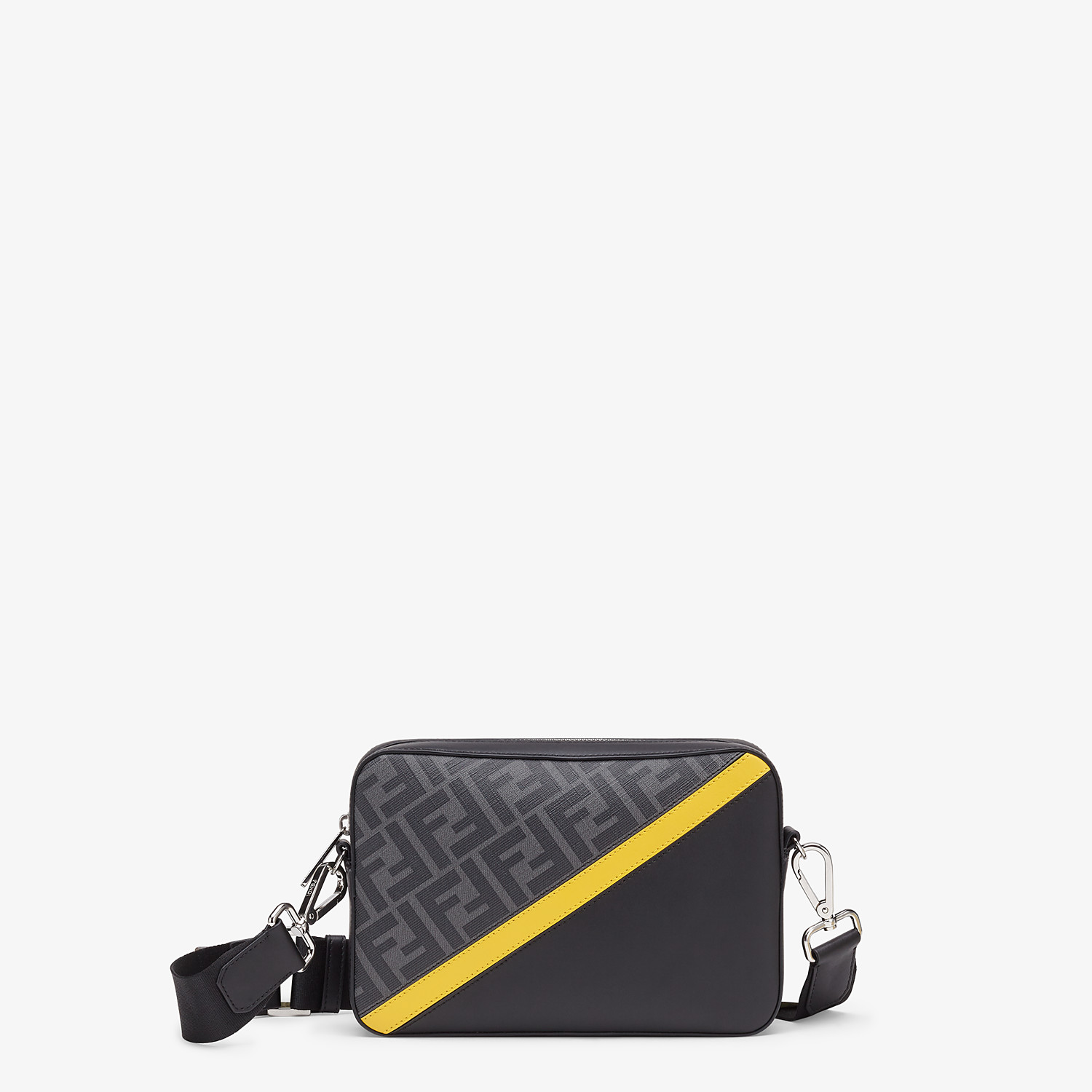 FENDI CAMERA CASE - Gray fabric bag - view 1 detail