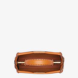 FENDI PEEKABOO ICONIC MEDIUM - Brown leather bag - view 5 thumbnail
