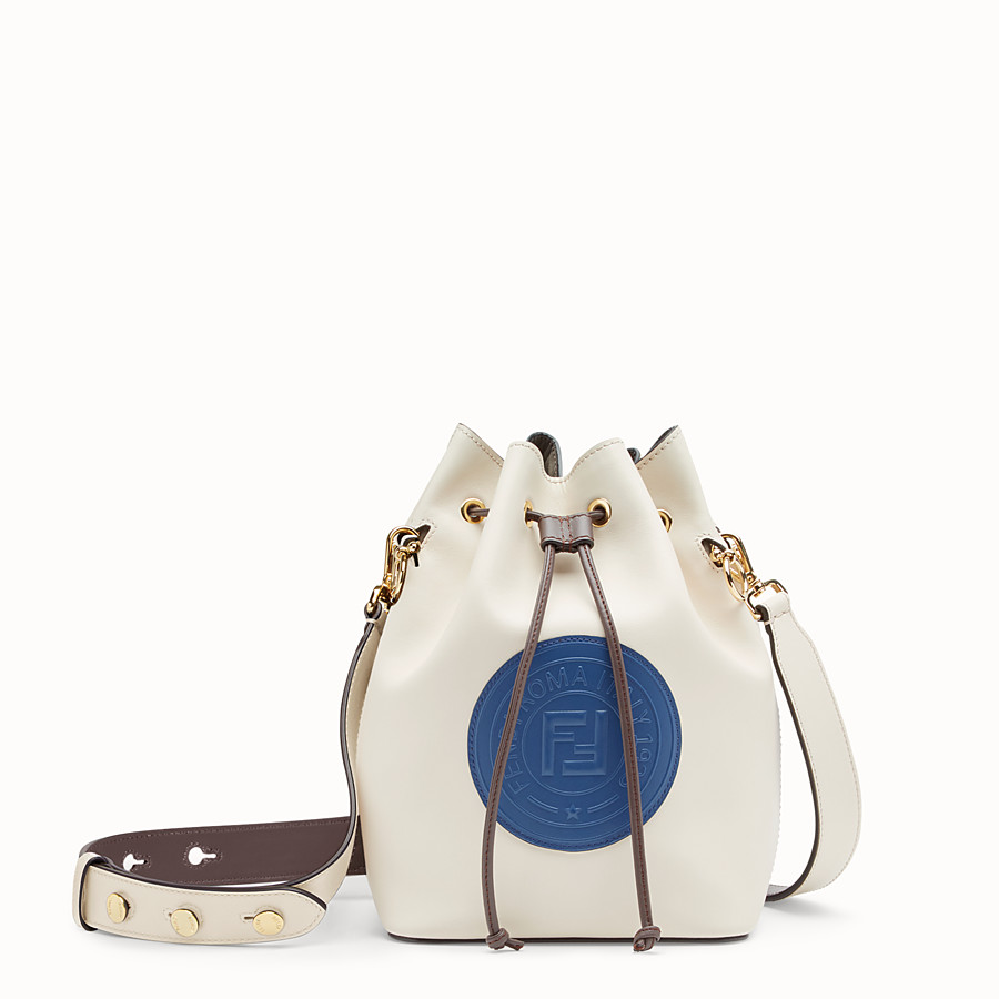 FENDI MON TRESOR - White leather bag - view 1 detail