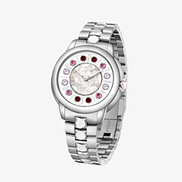FENDI FENDI ISHINE - 33 MM - Uhr mit rotierenden Edelsteinen - view 2 thumbnail