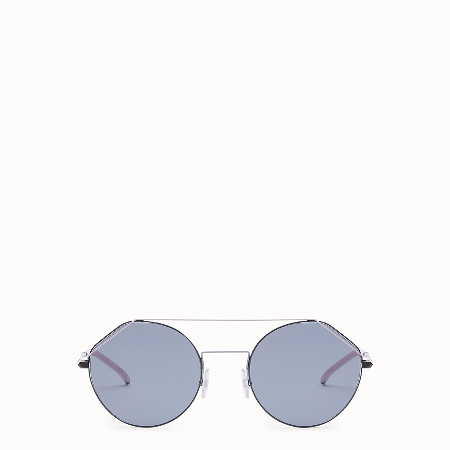 FENDI FENDIFIEND - Dark ruthenium and pink sunglasses - view 1 detail