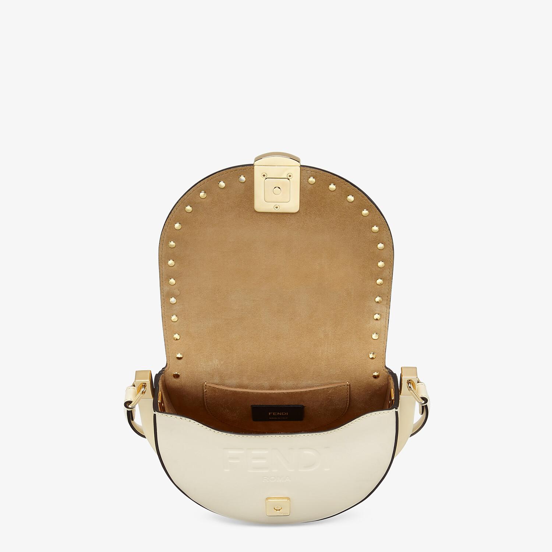 FENDI MOONLIGHT - White leather bag - view 5 detail