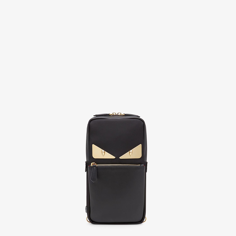 FENDI BELT BAG - Black nylon one-shoulder backpack - view 1 detail