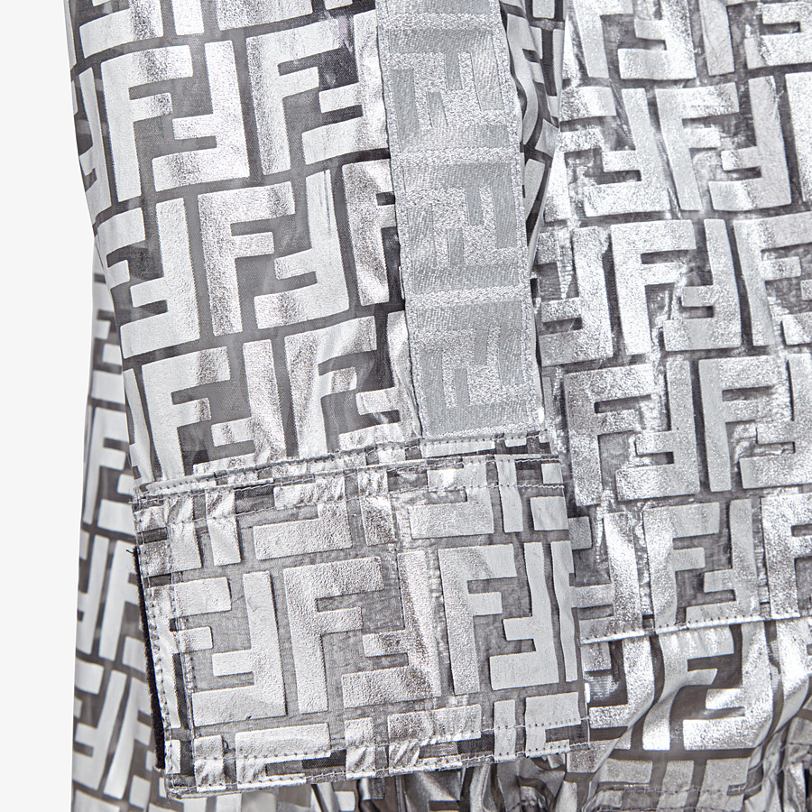 FENDI OVERCOAT - Fendi Prints On nylon raincoat - view 3 detail