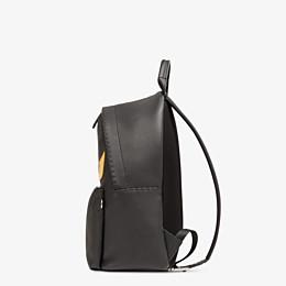 FENDI BACKPACK - Black leather handbag - view 2 thumbnail