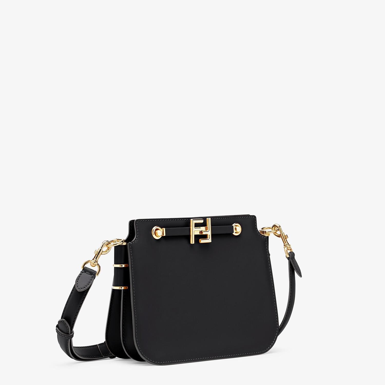 FENDI FENDI TOUCH - Black leather bag - view 3 detail
