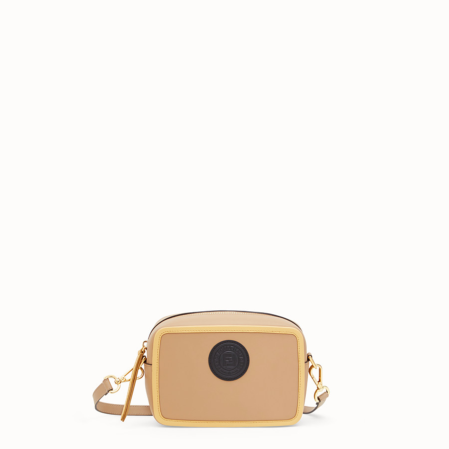 FENDI MINI CAMERA CASE - Multicolour leather bag - view 1 detail