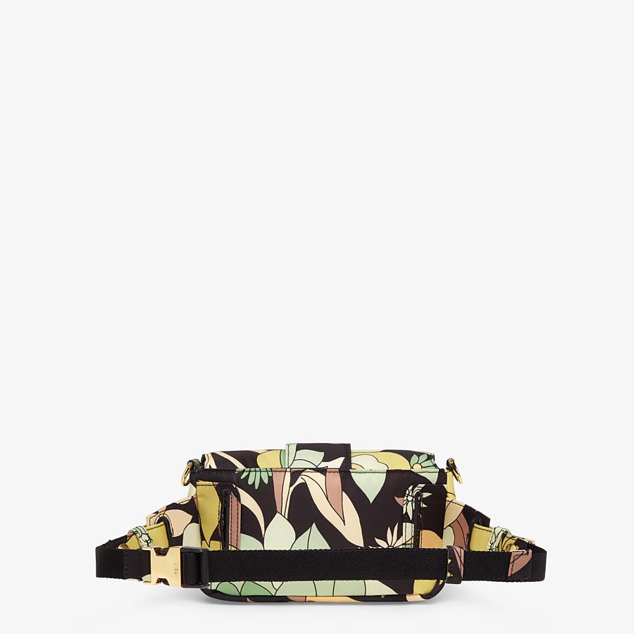 FENDI BAGUETTE - Green nylon bag - view 4 detail