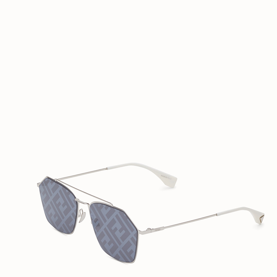 FENDI EYELINE - Palladium sunglasses - view 2 detail