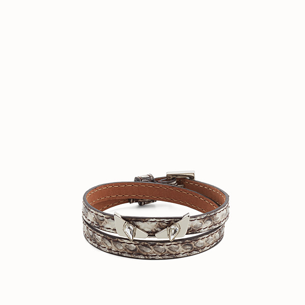 FENDI BRACELET - Crystal Wonders bracelet in elaphe - view 1 small thumbnail